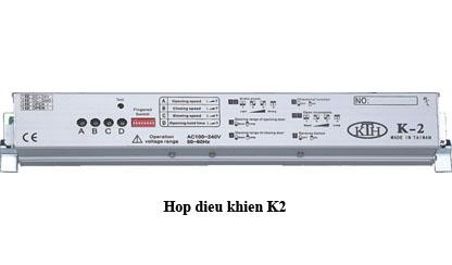 Hộp điều khiển K2 chi tiết