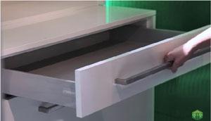 Tháo lắp phụ kiện tủ bếp ngăn kéo Grass DWD-XP