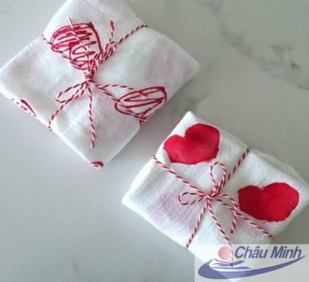 Set khăn Valentine VT03