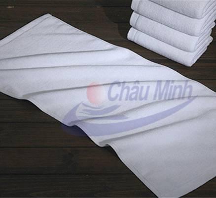 Khăn mặt cotton 40x70cm 150gr dùng cho spa, khách sạn