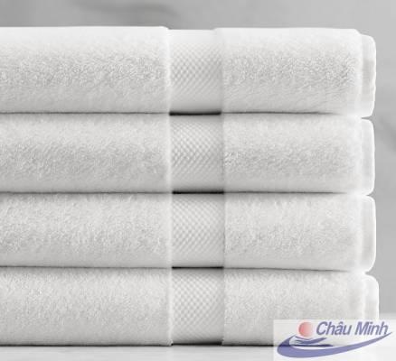 Khăn tắm cotton 70x140cm 380gr dùng cho spa, khách sạn.