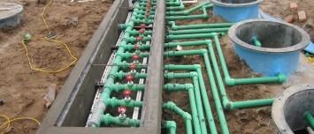 Dịch vụ lắp đặt và thi công các trạm xử lý nước thải