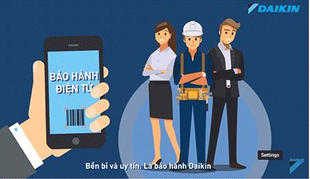 Hướng dẫn kích hoạt bảo hành điện tử điều hòa Daikin