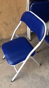 Ghế gấp lưng thấpTrường Phát màu xanh giá rẻ mới 100 %