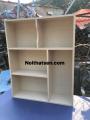 Giá sách gỗ 80 cao 1m
