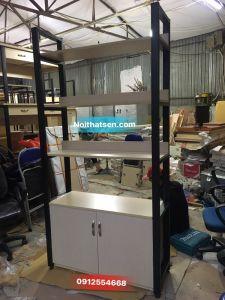 Kệ tủ trang trí rộng 1m cao 2m hàng mới 100% xưởng sản xuất