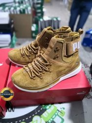 Giày thể thao Sneaker puma ignite cổ lửng da lộn, Mã số BC2185