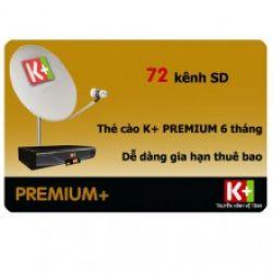 Thẻ K+ HD3 tháng Premium