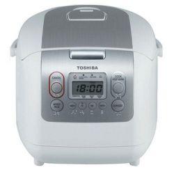 Nồi cơm điện tử Toshiba RC-18NMF (Màu trắng/ Cafe)