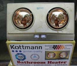 Đèn sưởi nhà tắm 2 bóng K2BG