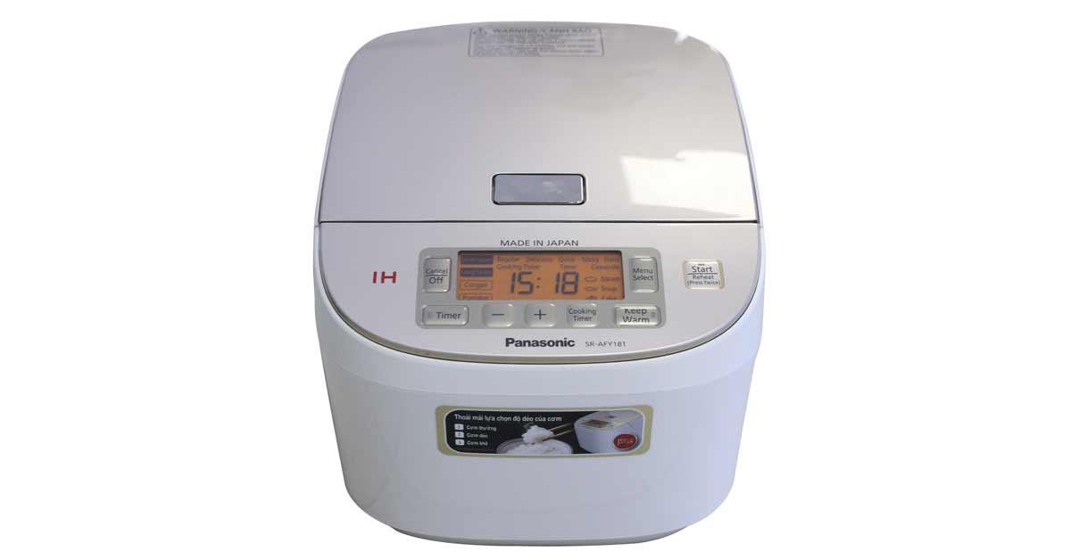 Nồi cơm điện cao tần Panasonic 1.8 lít SR-AFM181WRA