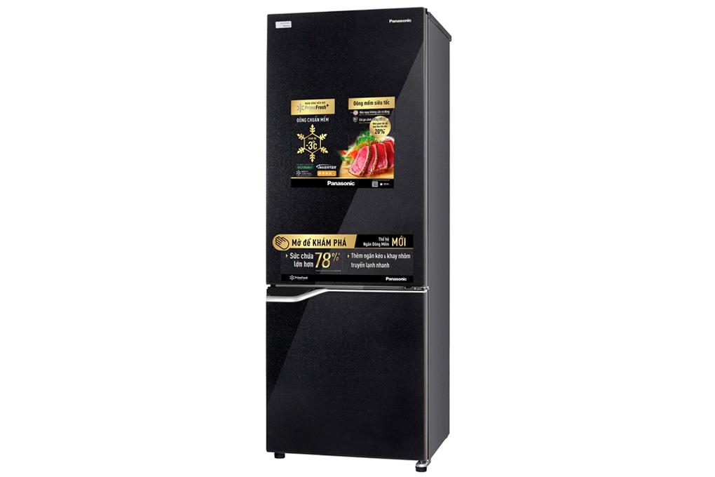 Tủ Lạnh Panasonic NR-BV329QKV2 290L Inverter