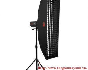Softbox tổ ong JINBEI EM 22cm x 90cm ( lưới vải )