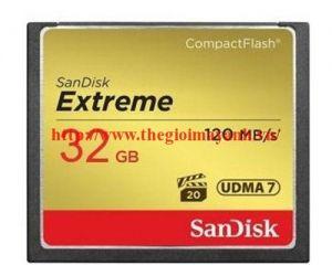 Thẻ nhớ CF SanDisk Extreme 32GB/800X/120m/s