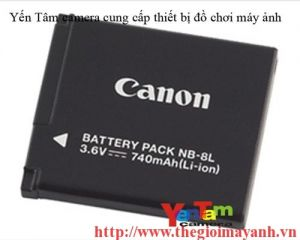 Pin canon NB- 8L