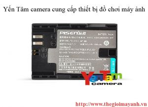 Pin Pisen for canon LP - E6