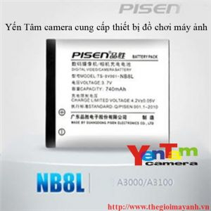 Pin Pisen for canon NB - 8L