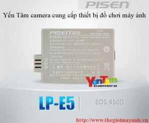 Pin pisen for canon NP- E5