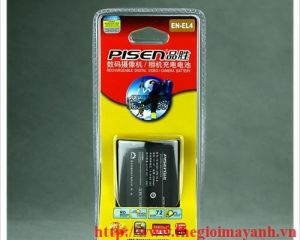 Pin Pisen for Nikon EN - EL4a