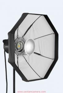 Chóa đèn BD-80cm (trắng) - có thể gấp gọn