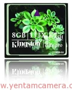 Thẻ nhớ Kingston CF Elite Pro 133x 8GB
