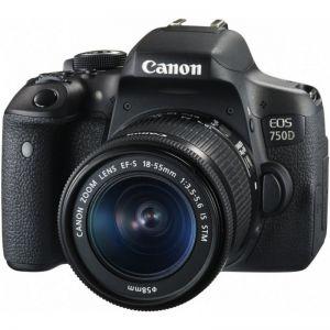 Canon EOS 750D Kit EF 18-55 IS STM- Chính hãng Lê Bảo Minh , Bảo hành 2 năm