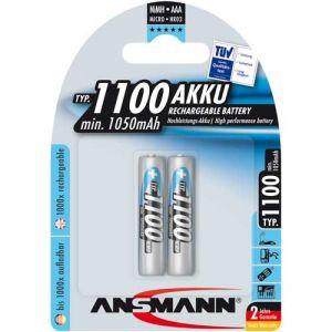 Pin sạc AAA Ansmann 1100mAh vỉ 2 viên