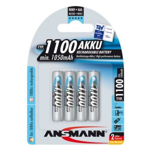 Pin sạc AAA Ansmann 1100mAh vỉ 4 viên