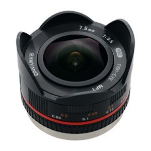 Samyang 7.5mm f/3.5 UMC Fisheye (MFT)