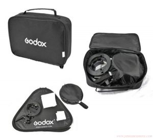 Sofbox gá đèn flash godox 60 x60 cm