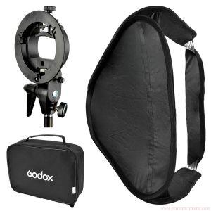 Softbox gá đèn godox  40x40cm