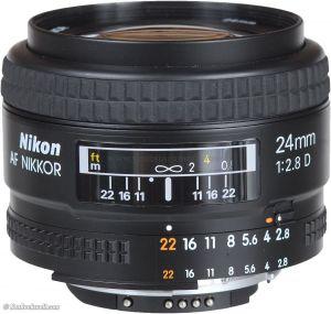 Nikon AF NIKKOR 24mm F/2.8D