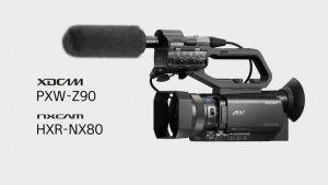 Sony HXR-NX80 Full HD XDCAM 4K chính hãng Bảo hành 24 tháng