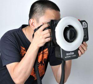 GODOX WITSTRO AR400 POWERFUL RING FLASH + LED LIGHT