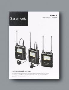 Mic Saramonic RX9 + TX9 + TX9
