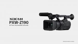 Máy quay Sony PXW-Z190 4K - Hàng Chính Hãng
