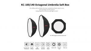 KC-100 Octagonal Umbrella Softbox