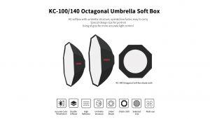 KC-100 Octagonal Umbrella Softbox