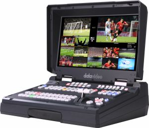 """Bàn switch HD/SD xách tay, gọn nhẹ, tích hợp monitor LCD 17"""" HS-2850"""