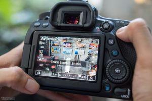 Mở hộp và trên tay Canon EOS 700D kèm lens kit