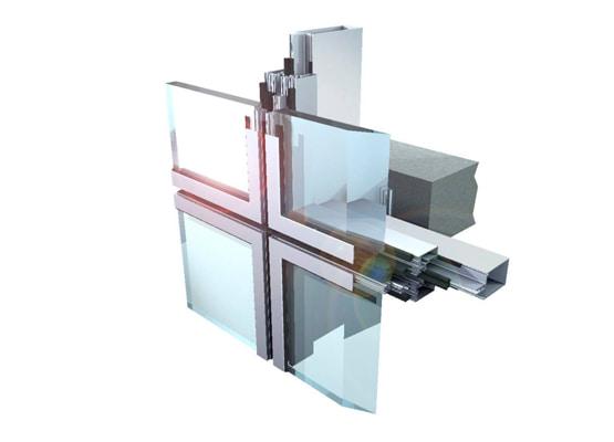 kết cấu của vách mặt dựng kính