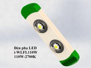 Đèn LED pha/nhà xưởng module đôi
