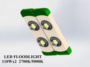 Đèn LED pha/nhà xưởng 2 chip 2 module