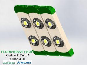 Đèn LED pha/nhà xưởng 2 chip 3 module