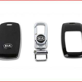 Ốp vỏ chìa khóa xe Kia (Đen)
