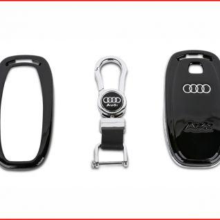 Ốp vỏ chìa khóa xe Audi (Đen)