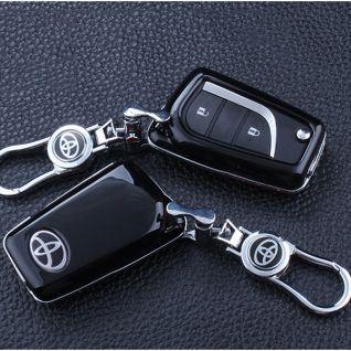 Ốp vỏ chìa khóa carbon- Toyota