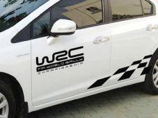 Tem dán thể thao sườn xe W2C
