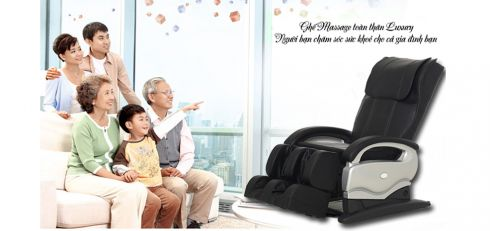 Ghế massage cao cấp công nghệ Nhật Bản