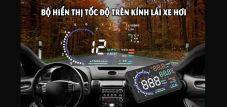 Bộ hiển thị tốc độ trên kính lái HUD A8